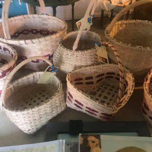 Cane, Pine Needle & Vintage Baskets