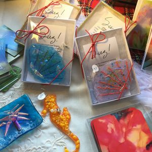 Etched, Stained & Fused Glass