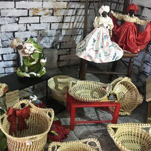 Sweetgrass Baskets & Gullah Dolls