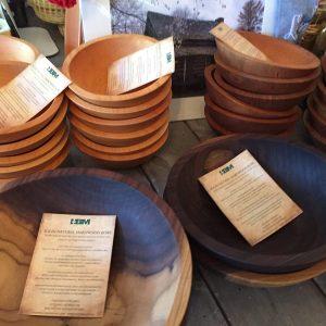 Wooden Bowls, Utensils, Cutting Boards